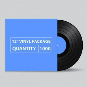 "1000 12"" LP Vinyl Package"